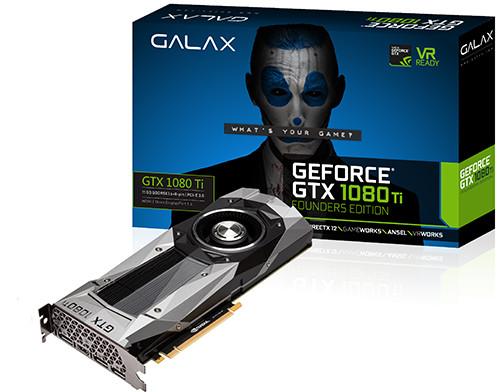 GALAX GTX 1080 Ti FE - 1480 1582 11010