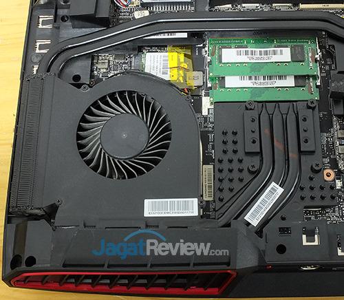 MSI GT73VR 6RE Titan CPU Cooler