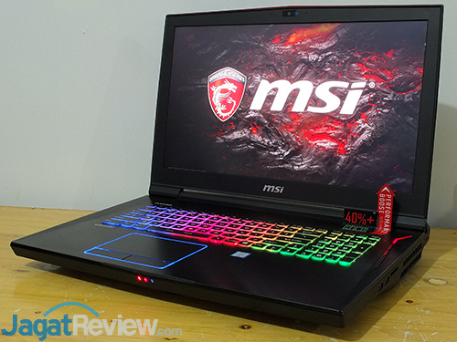 MSI GT73VR 6RE Titan Notebook