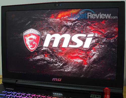 MSI GT73VR 6RE Titan Screen