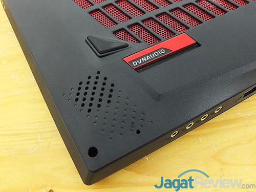 MSI GT73VR 6RE Titan Speaker - Left