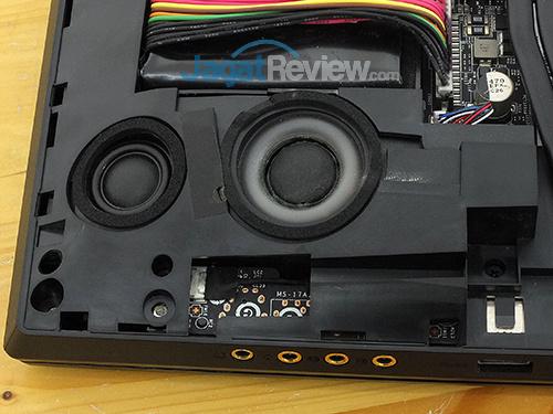 MSI GT73VR 6RE Titan Speaker & Subwoofer Driver - Left
