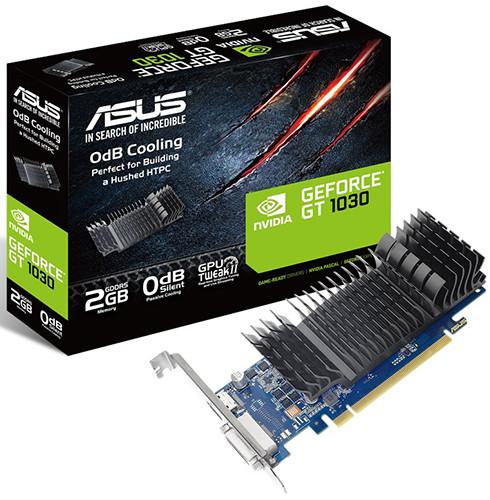 ASUS GT 1030 Silent 2 GB GDDR5 Gaming 1228 1468 OC 1266 1506 6008