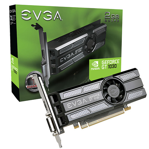 EVGA GeForce GT 1030 SC Low Profile 2 GB GDDR5 1290 1544 6008