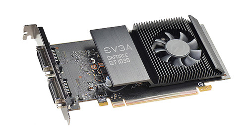 EVGA GeForce GT 1030 SC Single Slot 2 GB GDDR5 1290 1544 6008