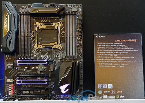 Gigabyte X299 Aorus Gaming 3