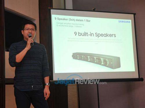Haris Pranata Wijaya, AV Product Marketing Samsung Electronics Indonesia