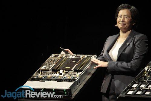 Server dengan EPYC 7000 dan 4x Radeon Instinct