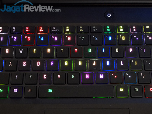 Gigabyte Aero 15 Keyboard Backlit