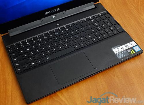Gigabyte Aero 15 Keyboard & Touchpad