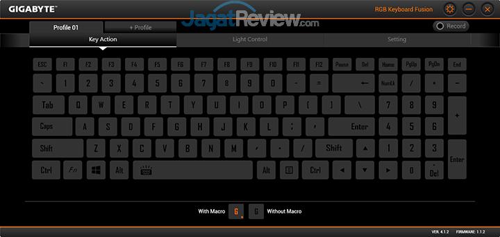 Gigabyte Aero 15 RGB Keyboard Fusion 01