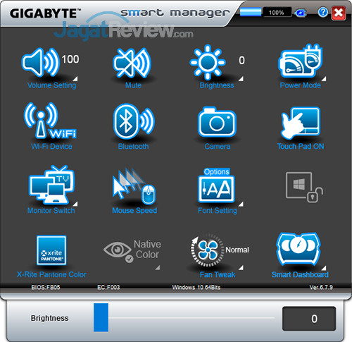 Gigabyte Aero 15 Smart Manager 05