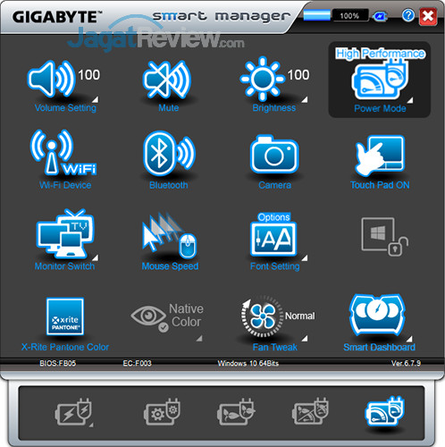 Gigabyte Aero 15 Smart Manager 07