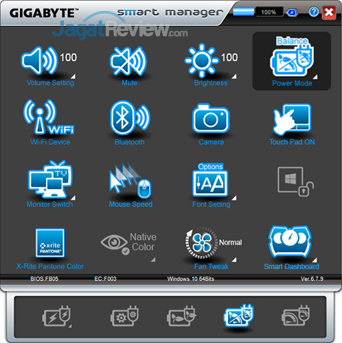 Gigabyte Aero 15 Smart Manager 08