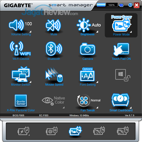 Gigabyte Aero 15 Smart Manager 09