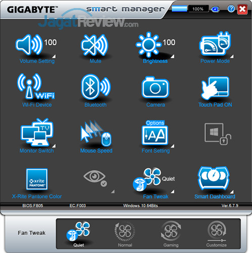 Gigabyte Aero 15 Smart Manager 27