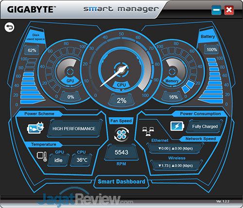 Gigabyte Aero 15 Smart Manager 32