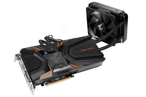 Aorus GTX 1080 Ti WaterForce Xtreme - 01