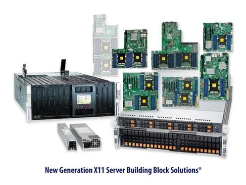 New Generation X11 Server Building Block Solutions Supermicro