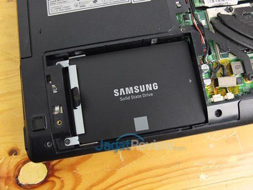Laptop siap digunakan!