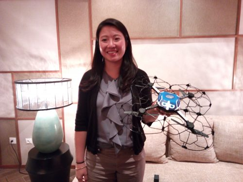 Natalie Cheung, General Manager Intel Drone Light Show.