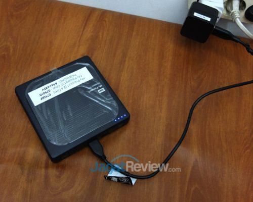 Melakukan pengisian ulang baterai