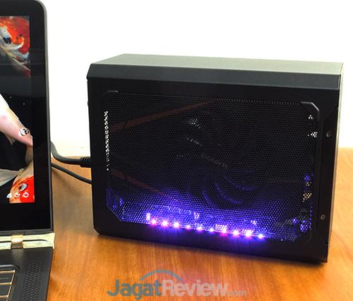 Gigabyte AORUS GTX 1070 Gaming Box LED