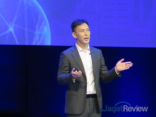 Joy Huang, Vice President of Huawei IT Product Line