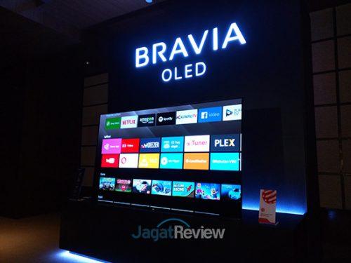 Sony Bravia OLED A1 dilengkapi dengan sistem operasi Android 7.0 Nougat.