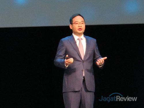 Zheng Yelai, President of Huawei Cloud BU and President of IT Product Line dari Huawei