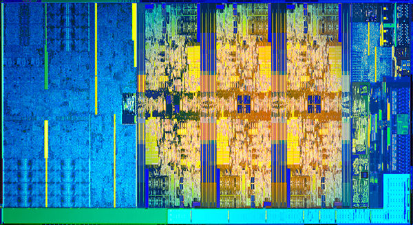 8th Gen Intel Core S-series Die