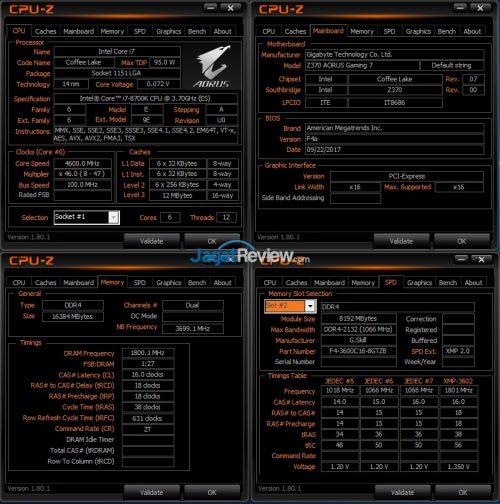 Core i7-8700K RAM DDR4-3600