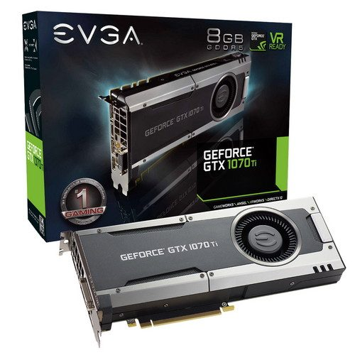 EVGA GeForce GTX 1070 Ti GAMING