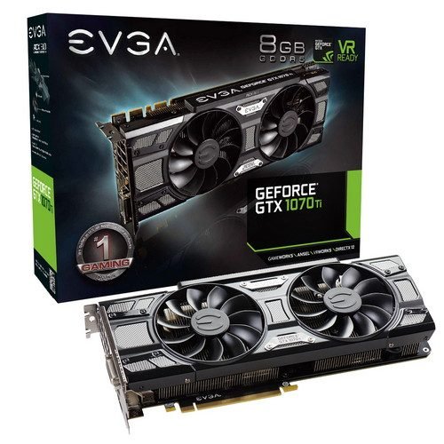 EVGA GeForce GTX 1070 Ti SC GAMING Black Edition