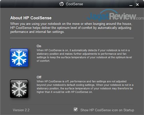 HP CoolSense