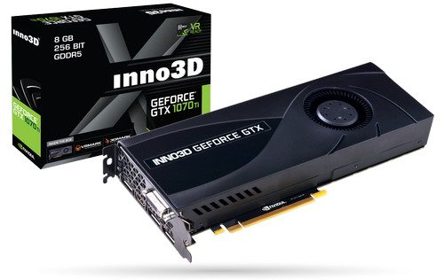 Inno3D GeForce GTX 1070 TI JET