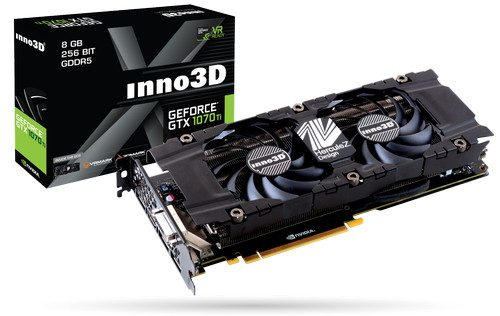 Inno3D GeForce GTX 1070 TI X2