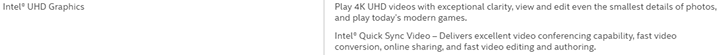 Intel UHD Graphics