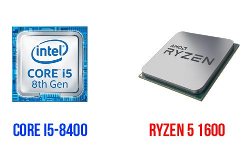 Intel Core i5-8400 & AMD Ryzen 5 1600: Skalabilitas Graphics