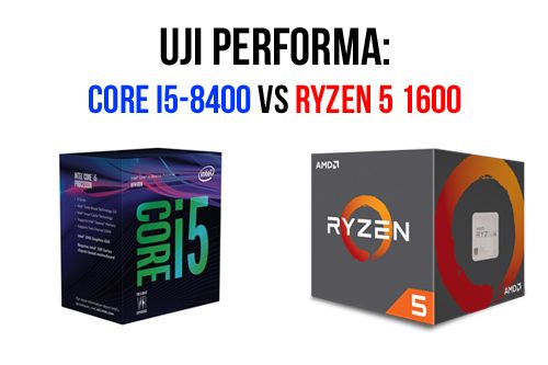 "Intel Core i5-8400 ""Coffee Lake"" vs AMD Ryzen 5 1600: Uji"