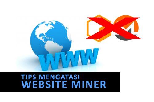 "Tips: Mengatasi ""Website Miner""   Jagat Review"