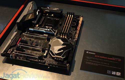 """Hands-On Motherboard Gigabyte Z370 Aorus Gaming 7-OP: """"Gratis"""" Intel"""