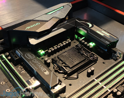 "Hands-On Motherboard Gigabyte Z370 Aorus Gaming 7-OP: ""Gratis"" Intel"