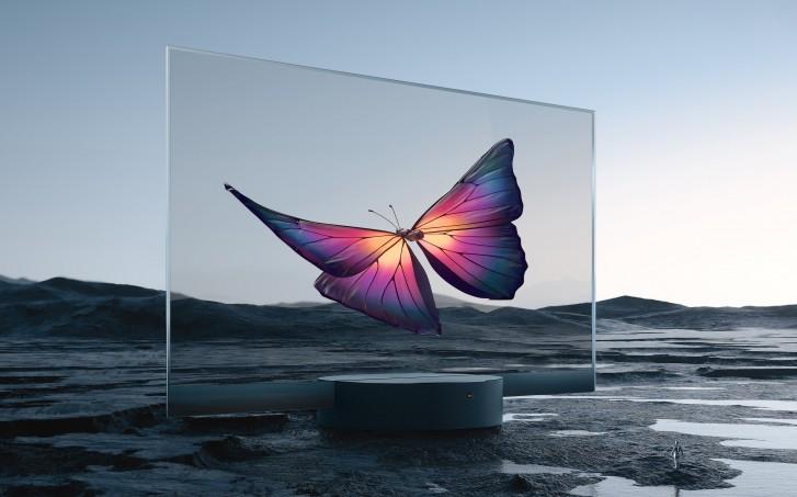 Mi TV LUX OLED Transparant
