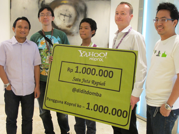 yahoo koprol Koprolcom is tracked by us since april, 2011 over the time it has been ranked as high as 903 599 in the world, while most of its traffic comes from indonesia, where it reached as high as 33 243 position.