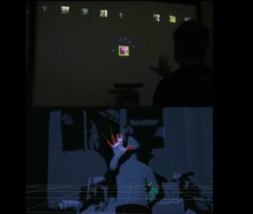 Kinect minority report