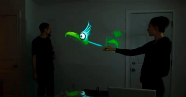 Kinect puppetry