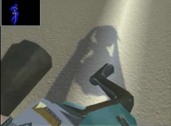 Kinect virtual reality