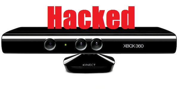 kinect hacked