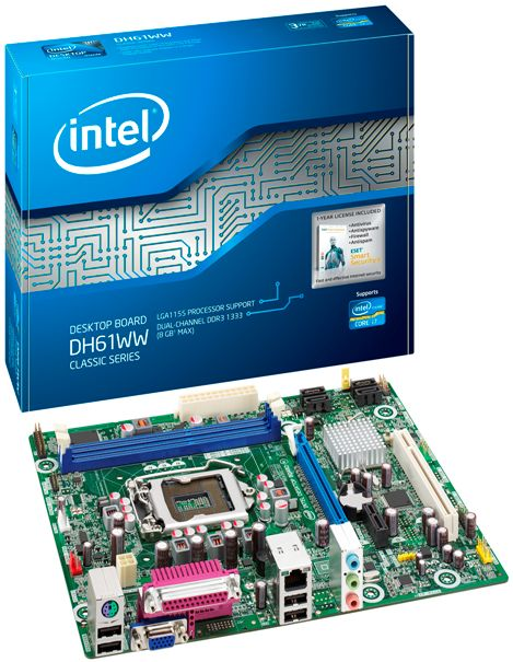 Intel H61 Chipset Review   Almost  All The Features For